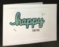 Happy For You - Stamp Set